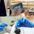 ที่มา : ดัดแปลงจากภาพใน http://singularityhub.com/wp-content/uploads/2010/09/water-purification-bags-used.jpg