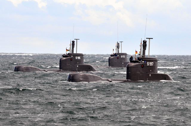 เรือดำน้ำแบบ U-206A  ที่มาภาพ : www.navy.mi.th