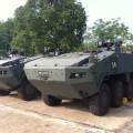 ยานเกราะล้อยางเทอร์เล็กซ์ (TERREX) กองทัพบกสิงคโปร์