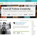 หน้าเว็บ Kickstarter.com