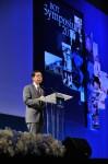 """ดร. ประสาร ไตรรัตน์วรกุล ผู้ว่าการธนาคารแห่งประเทศไทย เป็นประธานกล่าวเปิดงานสัมมนาวิชาการธนาคารแห่งประเทศไทย ประจำปี 2555 (BOT Symposium 2012) """"บทบาทหน้าที่ของธนาคารกลาง ท่ามกลางความเปลี่ยนแปลง"""" ซึ่งจัดขึ้นระหว่างวันที่ 24-25 กันยายน นี้ ณ โรงแรม Centara Grand at Central World"""