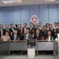 นายพยุงศักดิ์ ชาติสุทธิผล ประธานส.อ.ท. พร้อมกับกลุ่มอุตสาหกรรม 20 กลุ่มกับ 8 คลัสเตอร์ เปิดแถลงข่าวชี้แจงกรณีถูกปลดออกจากตำแหน่ง เมื่อวันที่ 27 พฤศจิกายน 2555