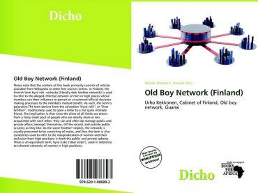 หนังสือเรื่อง Old Boy Network (Finland) ของ Delmar Thomas C Stuart หนังสือที่สะท้อนภาพการคอร์รัปชั่นในสังคมโปร่งใสของประเทศฟินแลนด์ เมื่อความสัมพันธ์ส่วนตัวมีอิทธิพลต่อการตัดสินใจใช้อำนาจรัฐซึ่งเป็นเรื่องของส่วนรวม ที่มาภาพ : https://www.morebooks.de
