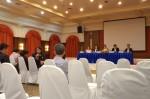 บรรยากาศการประชุมใหญ่สามัญประจำปี 2556 สมาคมนักศึกษาเก่าพาณิชยศาสตร์และการบัญชี วันที่ 23 เม.ย.2556 เวลา 18.00 น. ณ สมาคมธรรมศาสตร์ ในพระบรมราชูปถัมภ์
