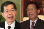 ดร.ประสาร ไตรรัตน์วรกุล (ซ้าย) กับ ดร.วีรพงษ์ รามางกูร (ขาว) ที่มา : www.posttoday.com
