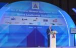 """นายอานันท์ ปันยารชุน อดีตนายกรัฐมนตรี และนายกกรรมการ ธนาคารไทยพาณิชย์ จำกัด (มหาชน) กล่าวปาฐกถาพิเศษในหัวข้อ """"Corporate Governance Developments in Thailand"""" ในงาน The 2nd National Director Conference 2013 จัดโดยสมาคมส่งเสริมกรรมการบริษัทไทย (IOD) เมื่อวันที่ 12 มิ.ย. 2556 ที่โรงแรมพลาซ่าแอทธินี"""