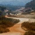 """บรรยากาศบริเวณด่านชายแดนประเทศพม่า ที่มาภาพ : """"กานต์ ทัศนภักดิ์"""""""