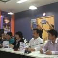 """วันที่ 4 พฤษภาคม 2557 น.ส.รสนา โตสิตระกูล อดีตวุฒิสมาชิก กรุงเทพมหานคร และสมาชิก แถลงข่าวเปิดตัว """"กลุ่มจับตาการปฏิรูปพลังงานไทย (จปพ.)"""""""