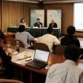 """สถาบันวิจัยเพื่อการพัฒนาประเทศไทย (TDRI) แถลงข่าว """"การปฏิรูปพลังงานไทย: มุมมองจากทีดีอาร์ไอ""""วันที่ 3 กรกฎาคม 2557"""