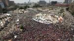 การชุมนุมประท้วงประธานาธิบดี Morsi ในอียิปต์ ก่อนการรัฐประหารในปี 2013 ที่มาภาพ: http://www.timesofoman.com/News/Article-19015.aspx