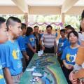 เด็กนักเรียนบรรยายโครงงานแม่น้ำอิง