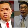 นายบัณฑูร ล่ำซำ (ซ้าย) ประธานเจ้าหน้าที่บริหาร ธนาคารกสิกรไทย จำกัด (มหาชน) ดร.สมเกียรติ ตั้งกิจวานิชย์ ประธานสถาบันวิจัยเพื่อการพัฒนาประเทศไทย(ทีดีอาร์ไอ