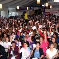 บรรยากาศการโหวตเลือกโครงการใช้จ่ายของรัฐบาลท้องถิ่นในบราซิล ที่มาภาพ: http://annecolgan.ie/wp-content/uploads/2014/01/Participatory-Budgeting.jpg