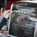 รัฐบาลกลางออสเตรเลียซื้อโฆษณาหนังสือพิมพ์ 4 สีเต็มหน้า โดยไม่มีรูปของนักการเมืองหรือข้าราชการที่เกี่ยวข้อง ซึ่งอาจเป็นภาพที่แปลกตาหากเทียบกับสิ่งที่เราเห็นจนเคยชินในเมืองไทย ที่มาภาพ: http://goo.gl/ni7zoC