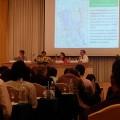 """สัมมนา """"การบริหารจัดการน้ำ : ข้อเสนอเชิงนโยบาย โดยสถาบันวิจัยเพื่อการพัฒนาประเทศ หรือทีดีอาร์ไอ ร่วมกับ International Development Research Centre หรือ IDRC ณ โรงแรมดิเอมเมอรัลด์ เมื่อวันที่ 1 กรกฎาคม 2558"""