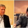ดร.จำเนียร วรรัตน์ชัยพันธ์ ผู้แทน IUCN ประจำประเทศไทย และนายธวัชชัย รัตนซ้อน เจ้าหน้าที่อาวุโสของ IUCN
