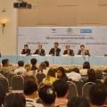 """เมื่อวันที่ 2 กันยายน 2558 สำนักงานสลากกินแบ่งรัฐบาลแถลงข่าว""""โครงการซื้อ-จองล่วงหน้าสลากกินแบ่งรัฐบาล"""" ห้องประชุมชั้น 3 สำนักงานสลากกินแบ่งรัฐบาล สนามบินน้ำ จังหวัดนนทบุรี"""
