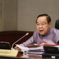 พล.อ. ประวิตร วงษ์สุวรรณ รองนายกรัฐมนตรีและรัฐมนตรีว่าการกระทรวงกลาโหม  ที่มาภาพ : http://www.thaigov.go.th/