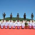 รัฐบาลของ พล.อ. ประยุทธ์ จันทร์โอชา กำลังเผชิญกับคำถามจากสังคมเรื่องการจัดการความไม่โปร่งใสในการจัดสร้างอุทยานราชภักดิ์ อ.หัวหิน จ.ประจวบคีรีขันธ์ ที่มาภาพ : http://www.thaigov.go.th/index.php/th/media-centre/190815-j1.html