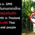 แคมเปญรณรงค์หยุด พ.ร.บ. จีเอ็มโอ ก่อนซ้ำเติมเกษตรกรไทยให้ตายคาแผ่นดินเกิดที่มาภาพ : https://www.change.org/