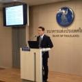 นายจาตุรงค์ จันทรังษ์ ผู้ช่วยผู้ว่าการ สายนโยบายการเงิน ธนาคารแห่งประเทศไทย (ธปท.) ในฐานะเลขานุการ คณะกรรมการนโยบายการเงิน (กนง.)