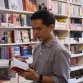 อำนาจ รัตนมณี หรือหนุ่ม ร้านหนังสือเดินทาง เจ้าของร้านหนังสืออิสระ Passport bookshop (ร้านหนังสือเดินทาง)