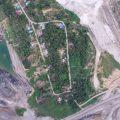 หมู่บ้านเคอตาบัวนาที่ถูกเหมืองถ่านหินขนาบทั้ง 2 ข้าง